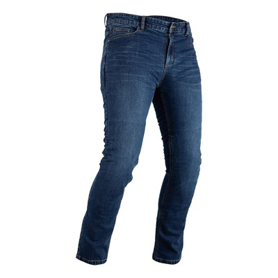 Jeans moto RST Tapered-Fit bleu (longueur standard)