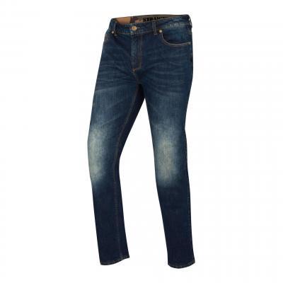 Jeans moto Segura Rony bleu washed