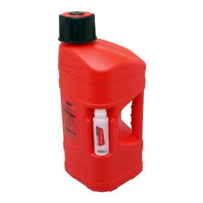 Jerrican Polisport ProOctane 10L rouge avec bidon 100 ml