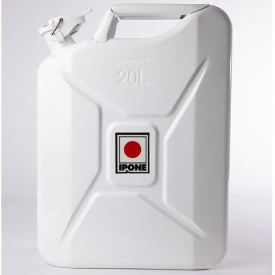 Jerrycan métal Ipone 20L blanc