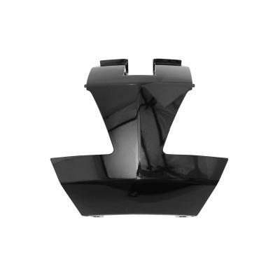 Jonction de coque arrière Peugeot 50 Vivacity 08- noir brillant