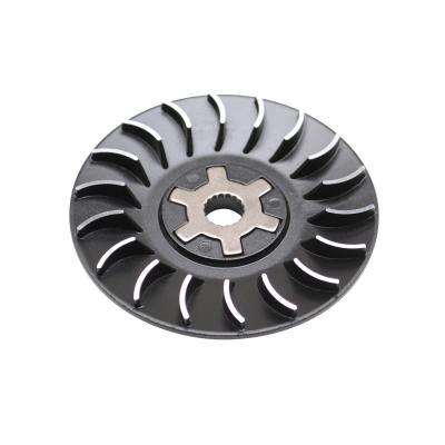 Joue fixe Replay ventile black edition pour Booster/Nitro/BW's/Aerox/SR/F12