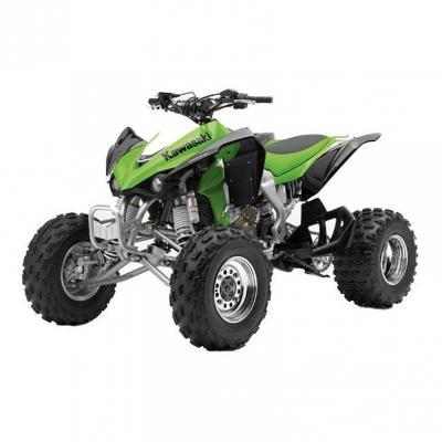 Kawasaki quad 450 KFX 2012 green 1:12 NewRay vert/noir