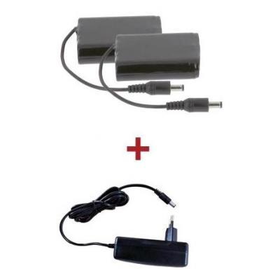 Kit batteries chargeur pour gants V'Quattro