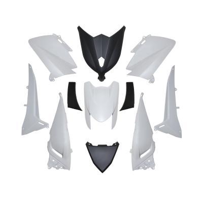 Kit carénage 1Tek Origine blanc brillant Yamaha T-Max 530 2012-