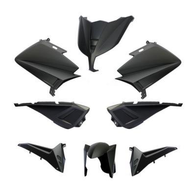 Kit carénage BCD avec poignées / avec rétro Tmax 530 12-14 noir mat