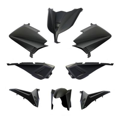 Kit carénage BCD avec poignées / sans rétro Tmax 530 12-14 noir mat
