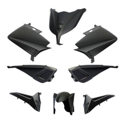 Kit carénage BCD sans poignées / avec rétro Tmax 530 12-14 noir mat