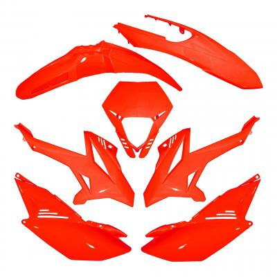 Kit carénage Beta 50 RR 12- rouge