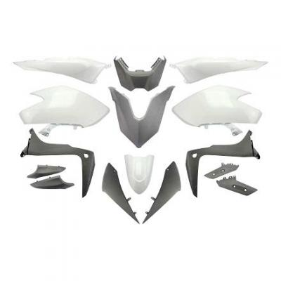 Kit carénage blanc compétition 15 pièces T-Max 530 2017-