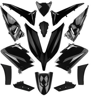 Kit carénage noir brillant T-Max 530 2015-16