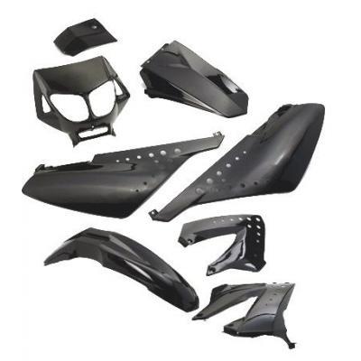 Kit Carénage noir Derbi Senda x8