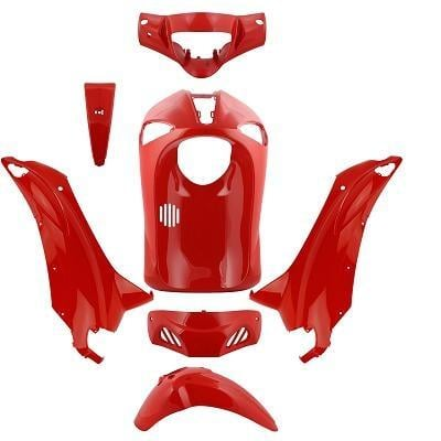 Kit carénage rouge Piaggio Liberty RST 2004-14