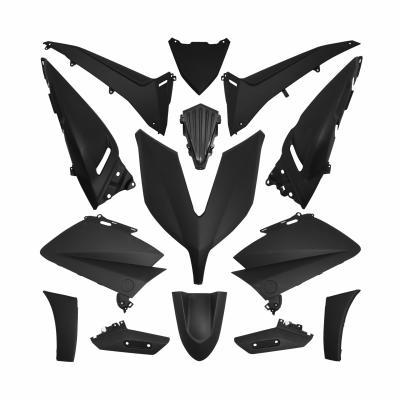 Kit carénage Yamaha 530 T-max 12-16 noir mat