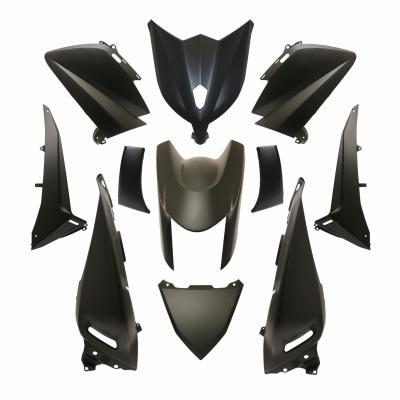Kit carénages Yamaha 530 T-max 2012 noir mat