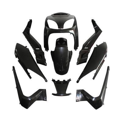 Kit carrosserie 10 pièces noir à peindre adaptable X-max/Skycruiser 2006>2009