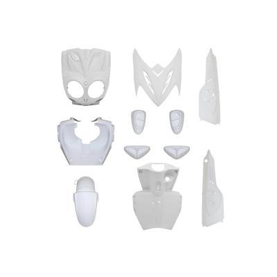 Kit carrosserie 11 pièces blanc avec pads blanc adaptable Stunt/Slider