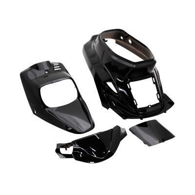Kit carrosserie 4 pièces noir brillant adaptable Booster spirit/BW's original