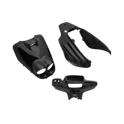 Kit carrosserie 5 pièces noir brillant adaptable Booster rocket/BW's bump