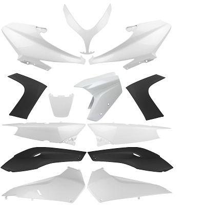 Kit carrosserie 500 T-max 2008-12 white Competition