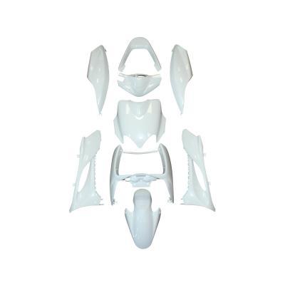 Kit carrosserie 9 pièces blanc brillant adaptable Mach g/Jog RR