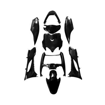 Kit carrosserie 9 pièces noir brillant adaptable Mach g/Jog RR