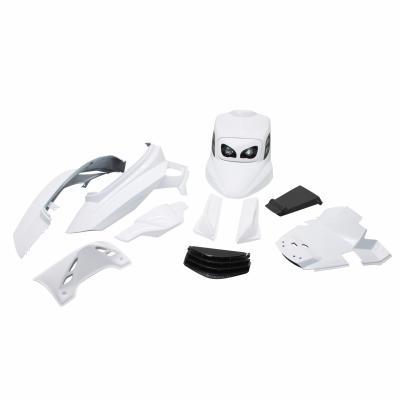 Kit carrosserie BCD full MBK Booster 04- blanc