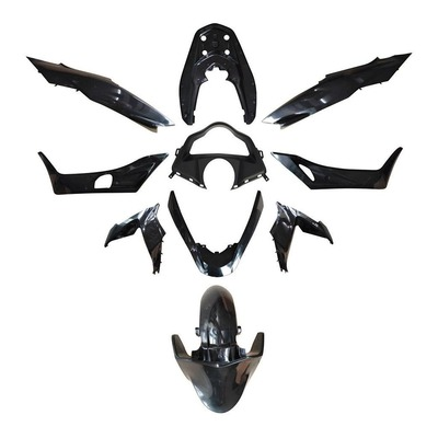 Kit carrosserie noir brillant PCX 125 2014-
