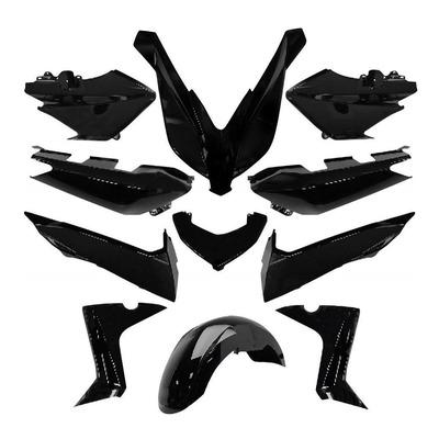 Kit carrosserie noir brillant X-Max 125/250/400 2014-16