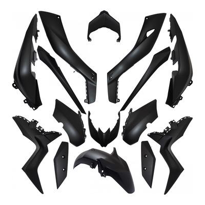 Kit carrosserie noir mat pour Yamaha 125-300-400 X-max 18-