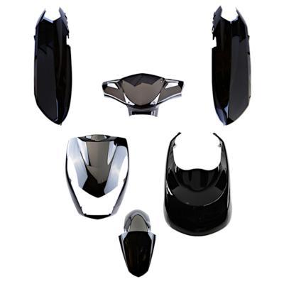 Kit carrosserie Peugeot 50 Kisbee noir brillant