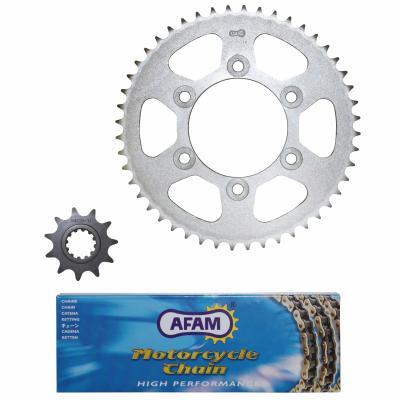 Kit chaîne Afam 11x48 Rieju 50 Spike 03-04