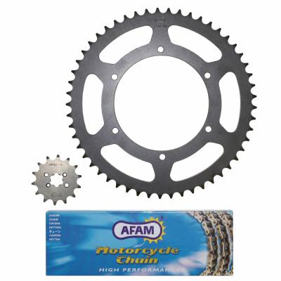 Kit chaîne Afam 11x53 Derbi 50 Senda DRD Racing / X-Trem 11