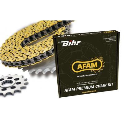 Kit chaîne Afam acier Gilera 50 SMT/RCR