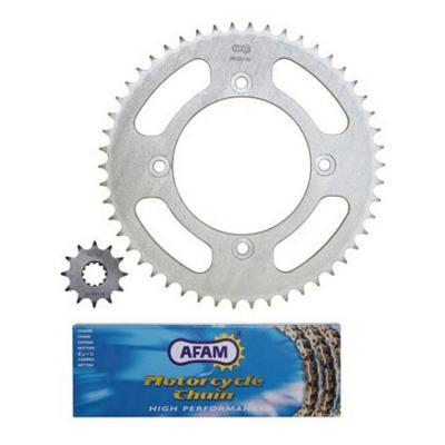 Kit chaîne Afam pas 428 12X50 Beta RR Factory 05-