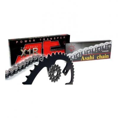 Kit chaîne JT Drive Chain 14/46 acier Husqvarna TC85 14-21