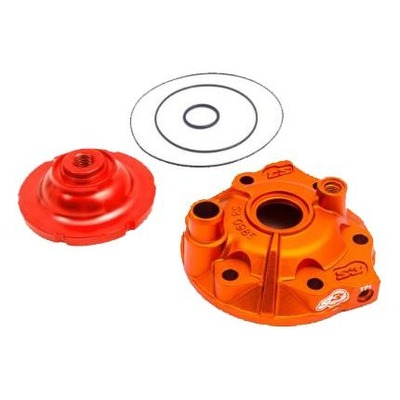 Kit culasse orange avec dôme S3 Power haute compression pour KTM 300 EXC / Husqvarna 300I TE