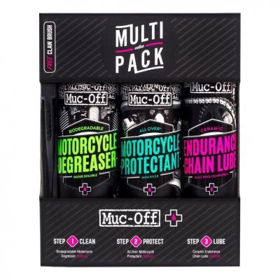 Kit d'entretien Muc-Off Motorcyle Multi Pack