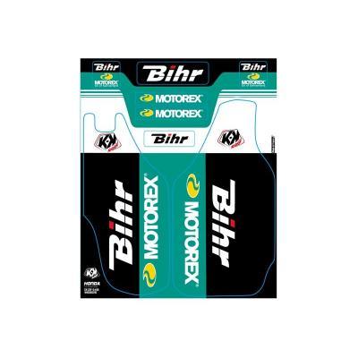 Kit de déco de fourche Kutvek Bihr/Motorex Honda CRF 250/450