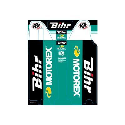 Kit de déco de fourche Kutvek Bihr/Motorex Yamaha YZ-YZF-WRF