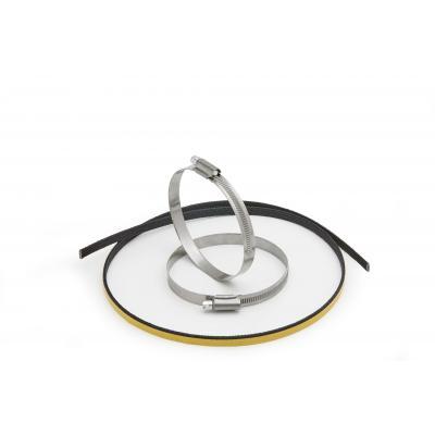 Kit de fixation pare-chaleur Givi pour pot d'échappement entre 80 et 100mm