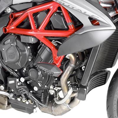 Kit de montage pour tampons de protection Givi MV Agusta 800 Brutale 17-19