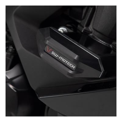 Kit de tampons de protection SW-MOTECH noir Kawasaki Ninja 1000 SX 19-21