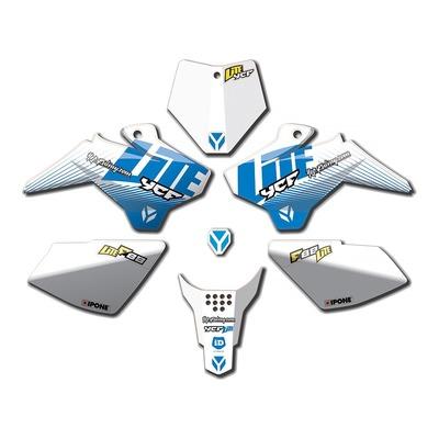 Kit déco 2021 YCF 88 Lite à partir de 2018 bleu/blanc