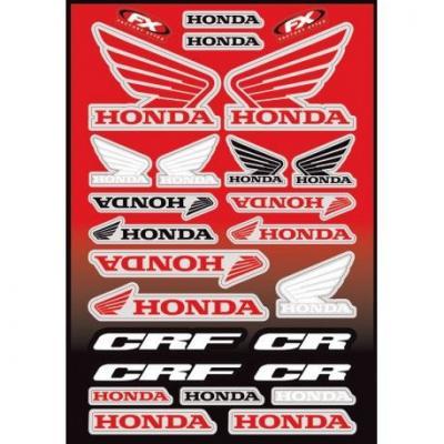 Kit déco autocollants Honda CR/CRF 26 pièces