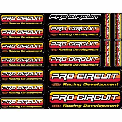 Kit déco autocollants Pro Circuit