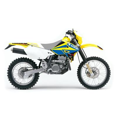 Kit déco Blackbird Dream Graphic 4 Suzuki 400 DR-Z 03-20 jaune/bleu