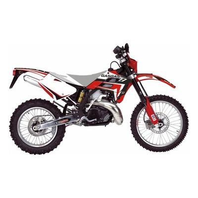 Kit déco Blackbird Racing Dream 4 Gas Gas 250 EC 02-06 noir/rouge