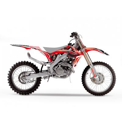 Kit déco Blackbird Racing Dream 4 Honda CRF 450R 09-12 noir/rouge