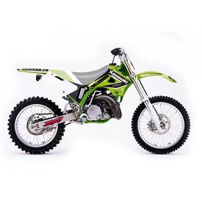 Kit déco Blackbird Racing Dream 4 Kawasaki 125 KX 94-98 vert/blanc/noir